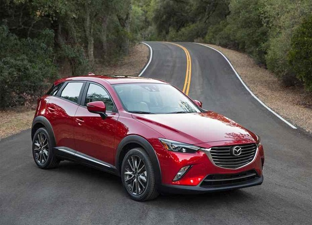 2019 Mazda CX-3 front view