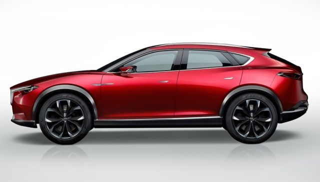 2019 Mazda CX-7 side view
