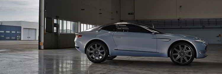 Aston Martin DBX concept side