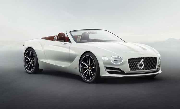 Bentley electric SUV concept EXP 12 SPEED 6E