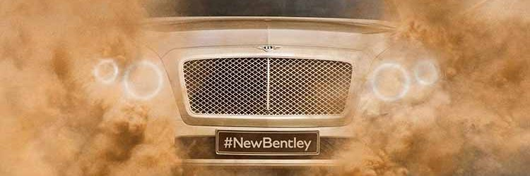 Bentley electric SUV concept front