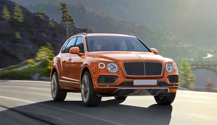 Bentley electric SUV concept