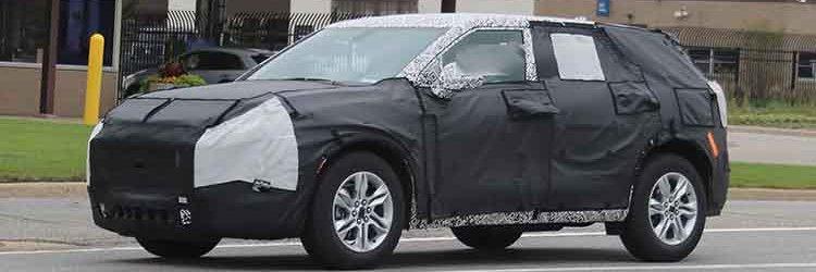 2019 Chevrolet Blazer spied