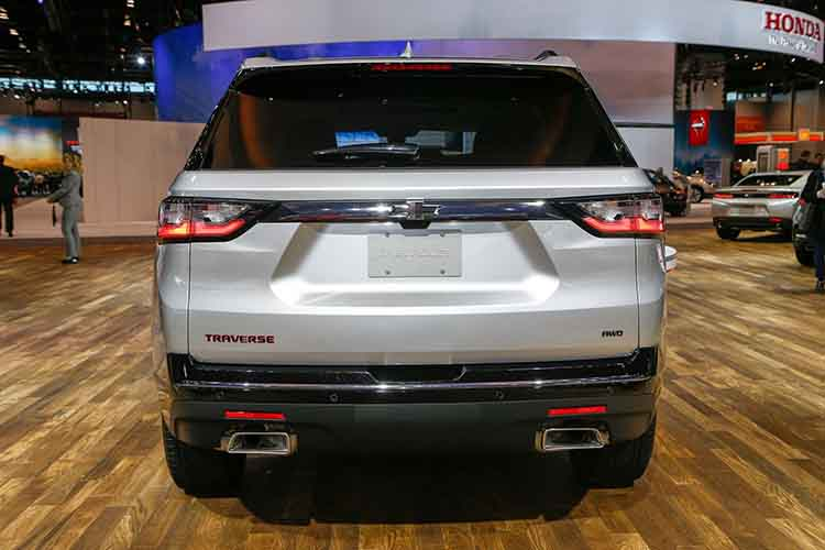 2019 Chevrolet Traverse rear
