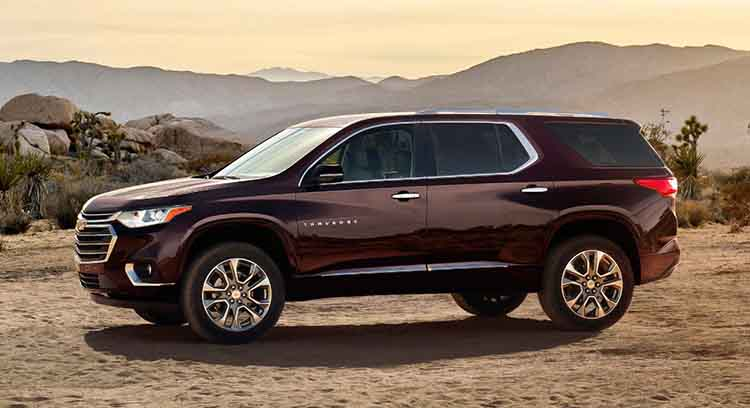 2019 Chevrolet Traverse side