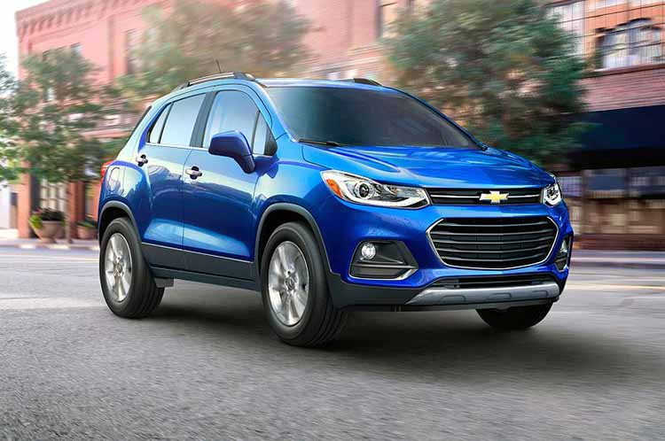 2019 Chevrolet Trax front