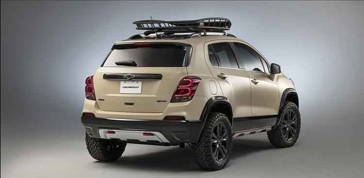 2019 Chevrolet Trax off-road