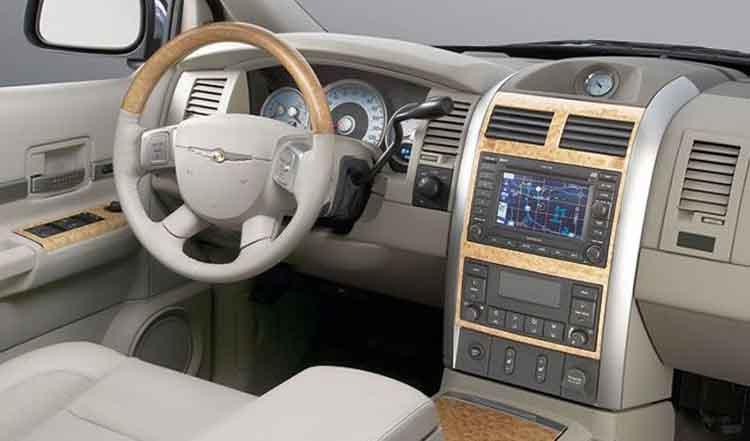 2019 Chrysler Aspen interior
