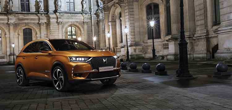 2019 DS7 Crossback front