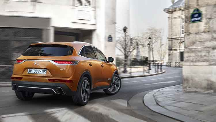 2019 DS7 Crossback rear