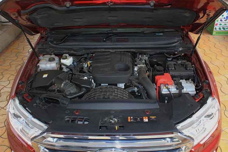2019 Ford Endeavour engine
