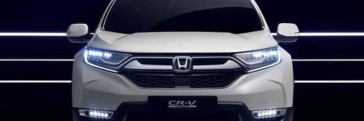 2019 Honda CR-V Hybrid front