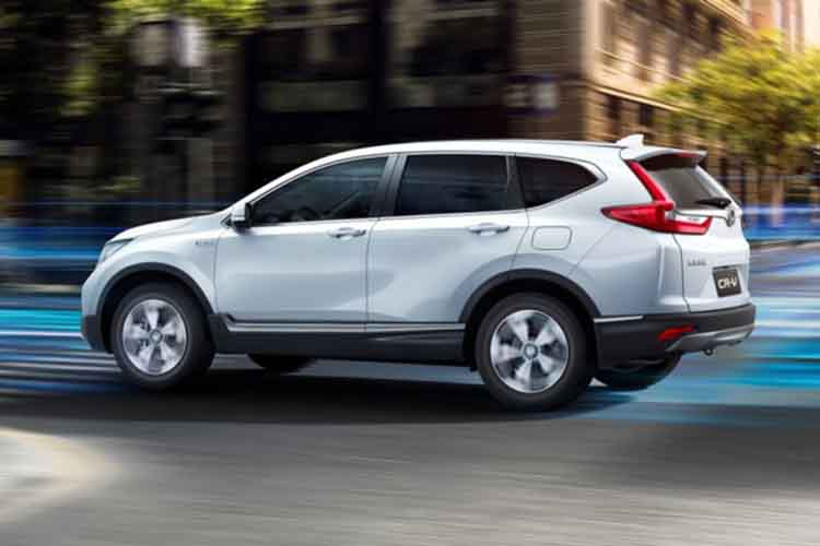 2019 Honda CR-V Hybrid side