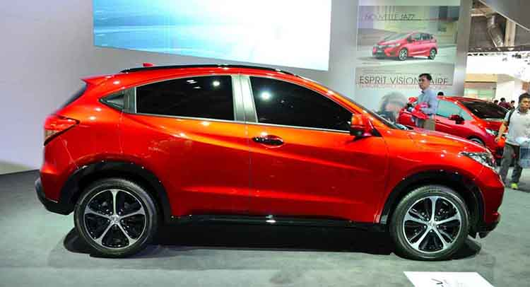 2019 Honda HR-V side