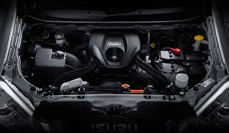 2019 Isuzu MU-X engine