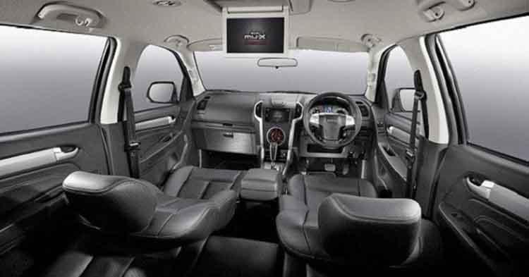 2019 Isuzu MU-X interior