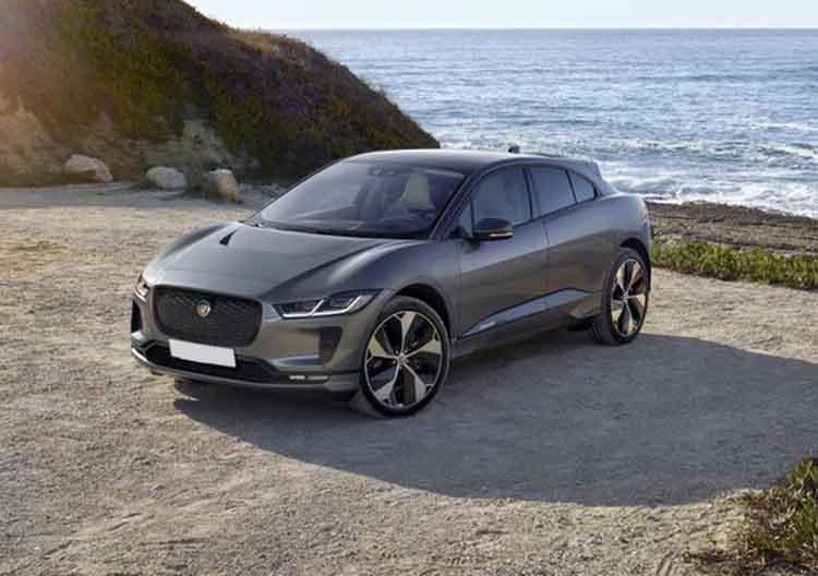 2019 Jaguar I-Pace EV front