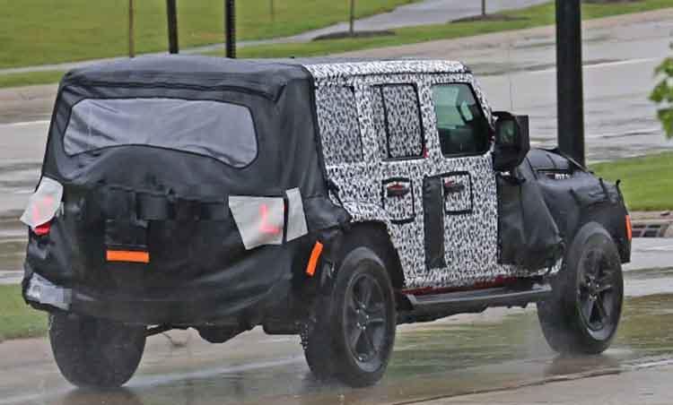 2019 Jeep Wrangler Diesel rear