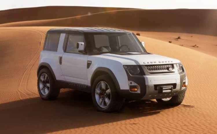 2020 Land Rover Defender concept