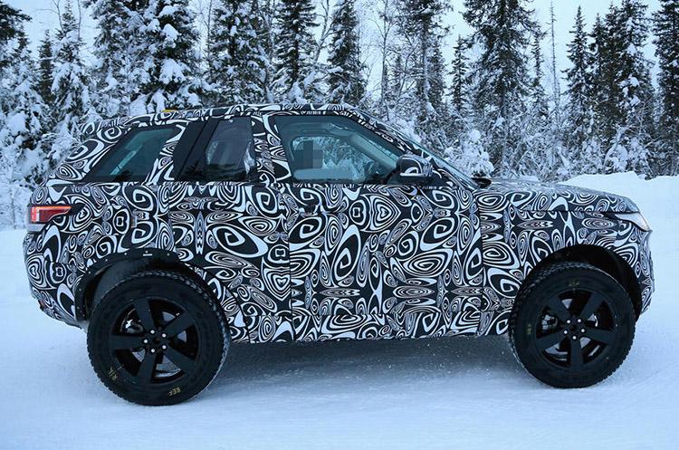 2020 Land Rover Defender side