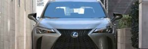 2019 Lexus UX SUV front