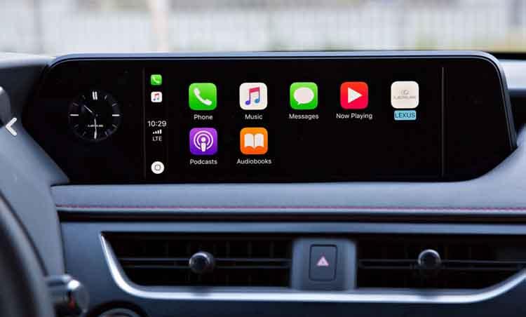 2019 Lexus UX SUV interior