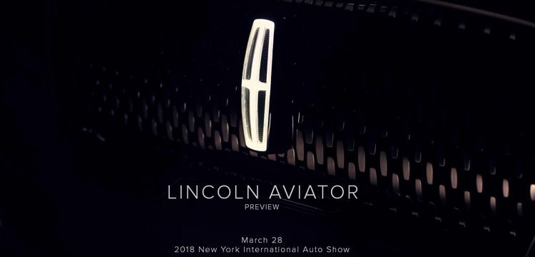 2019 Lincoln Aviator teaser