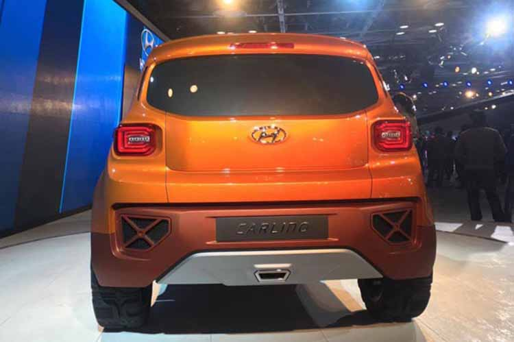 2019 hyundai carlino rear