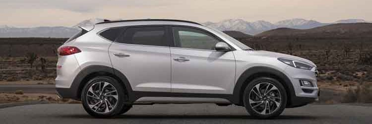 2019 Hyundai Tucson side