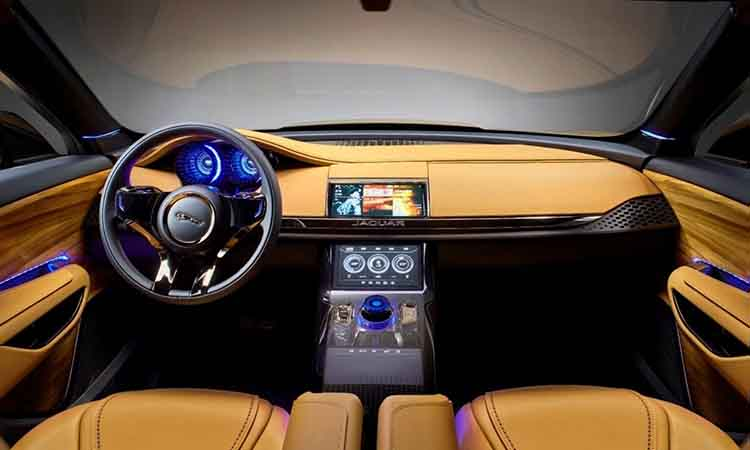 2019 Jaguar XQ interior