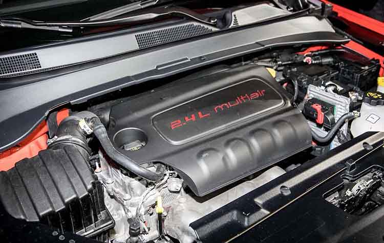 2019 Jeep Compass Trailhawk engine