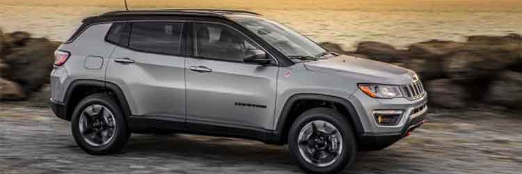 2019 Jeep Compass Trailhawk side