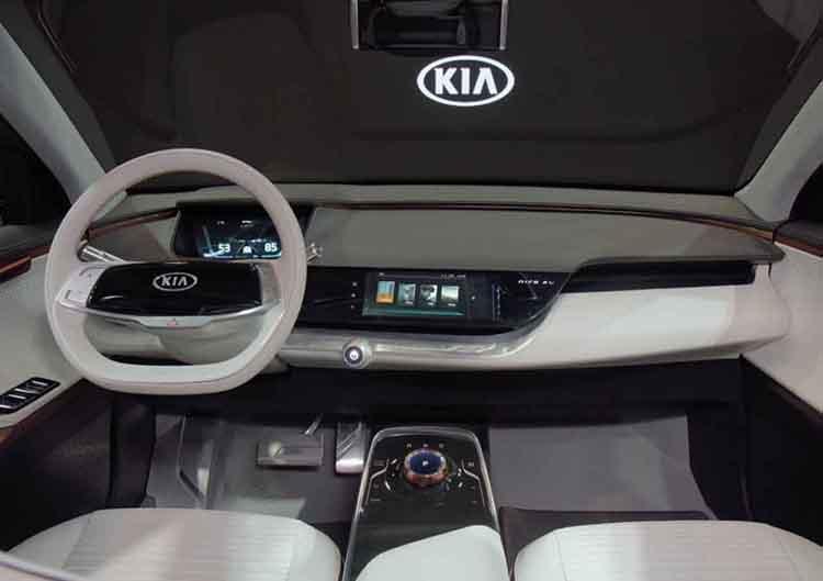 2019 Kia Niro concept interior