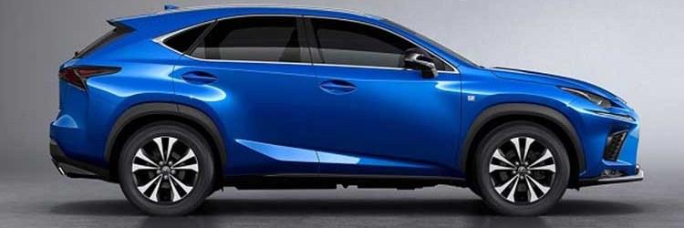 2019 Lexus NX side