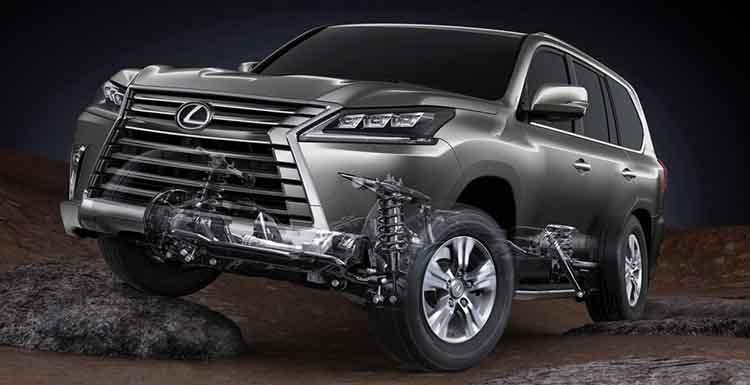2019 Lexus LX 570 drivetrain