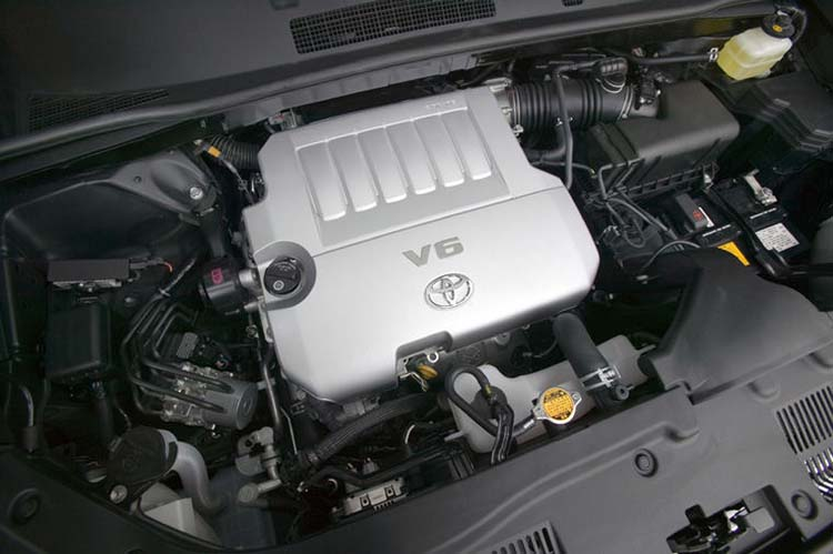 2020 Toyota Highlander V6 engine