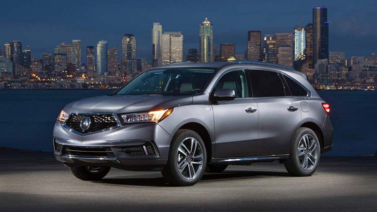 2020 Acura MDX changes