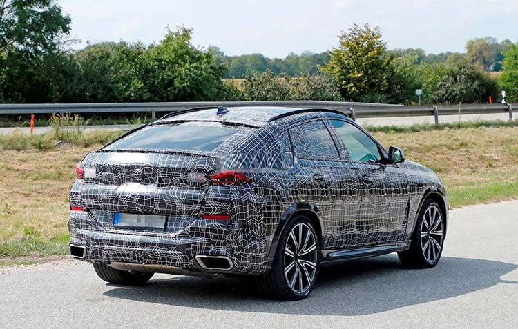 2020 BMW X6 spied