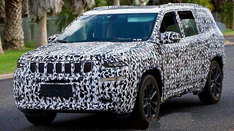 2020 Jeep Grand Wagoneer spied