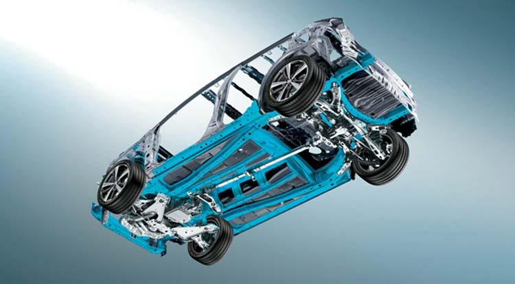 2020 Subaru Outback platform