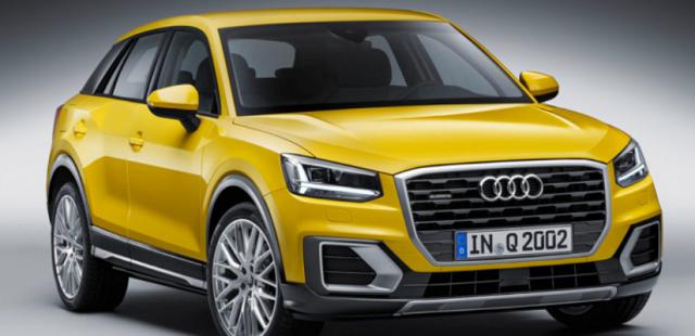 2020 Audi Q2 front view
