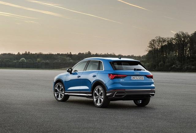 2020 Audi Q3 rear view