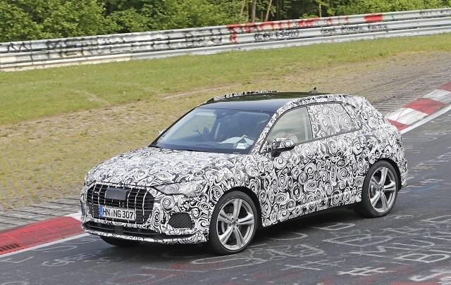 2020 Audi Q4 spy shots