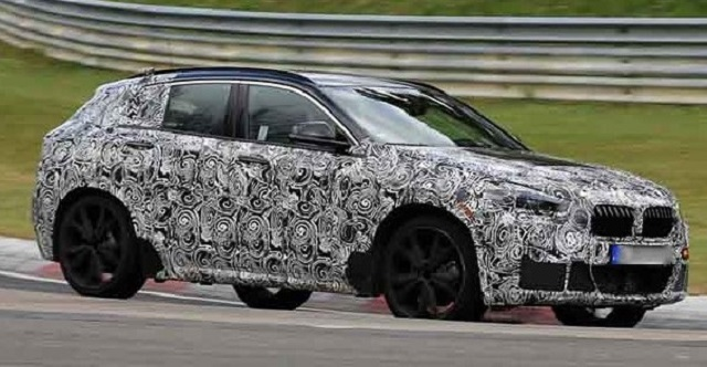 2020 BMW X1 spy shots