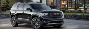 2020 GMC Acadia front view