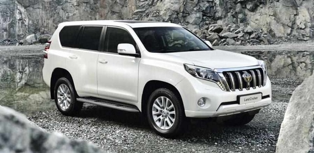 2020 Toyota Land Cruiser Prado front view