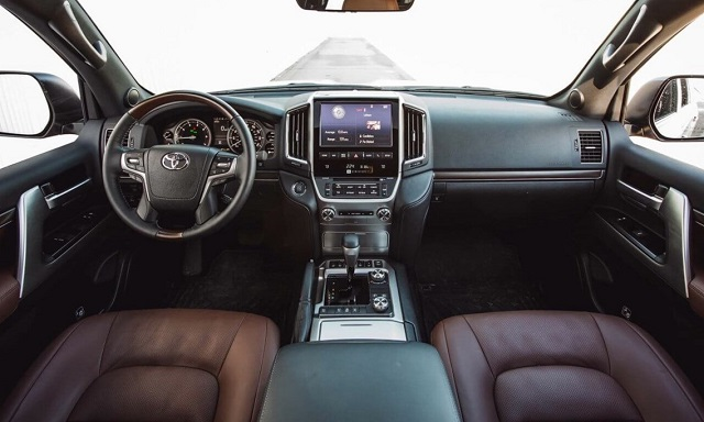 2020 Toyota Land Cruiser Prado interior