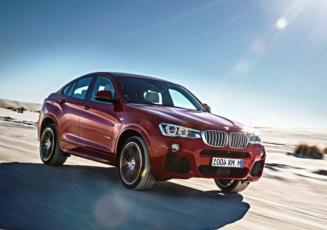2020 bmw x4 front view