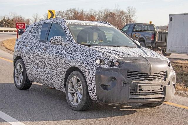 2020 Opel Mokka X spy shots