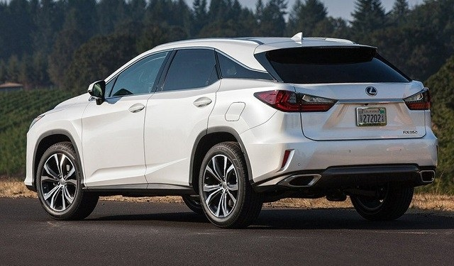 2020 Lexus RX350 rear view